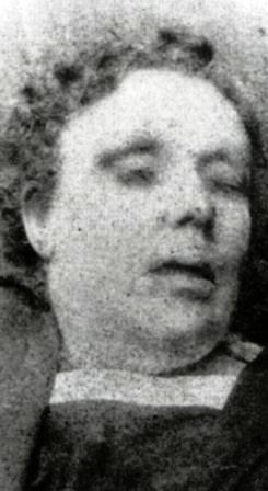 Jack Rozparovač fotky zavražděných žen: Annie Chapman - zavražděna 8. září 1888