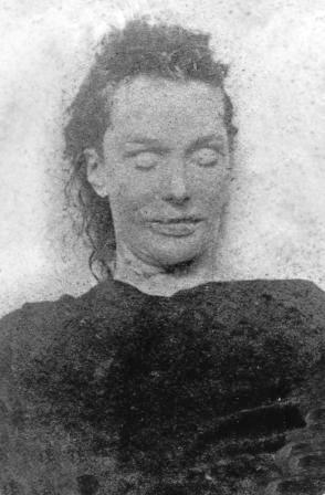Jack Rozparovač fotky zavražděných žen: Elizabeth Stride - zavražděna 30. září 1888